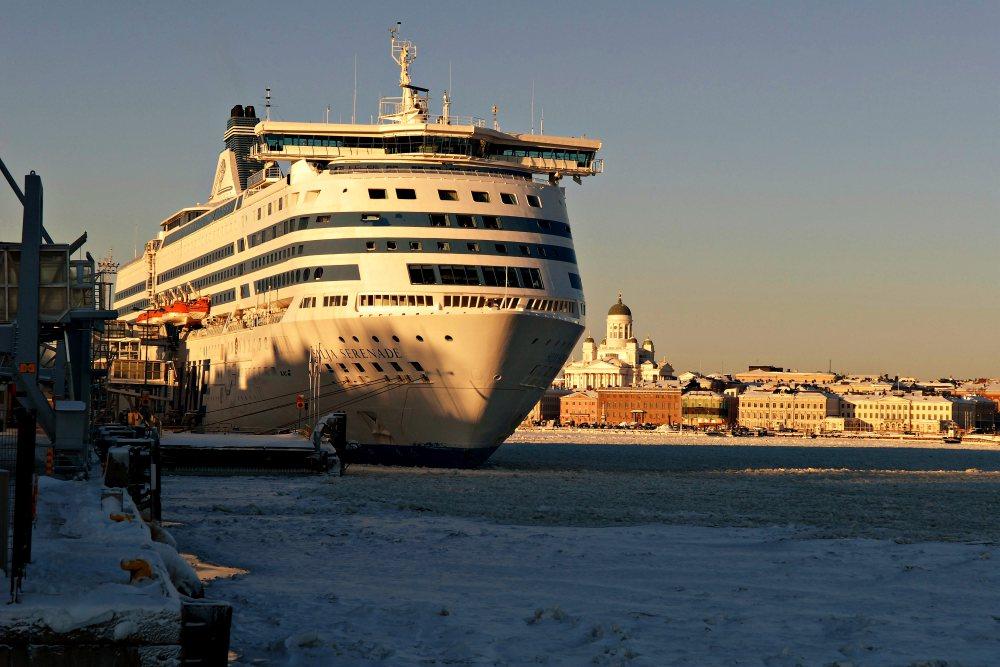 Talvista Helsinkiä joulukuu 2009-tammikuu 2010. Kuva:Jari Linjala