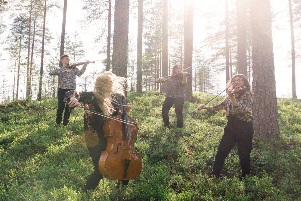 Borea Quartet, photo byJuuso Westerlund