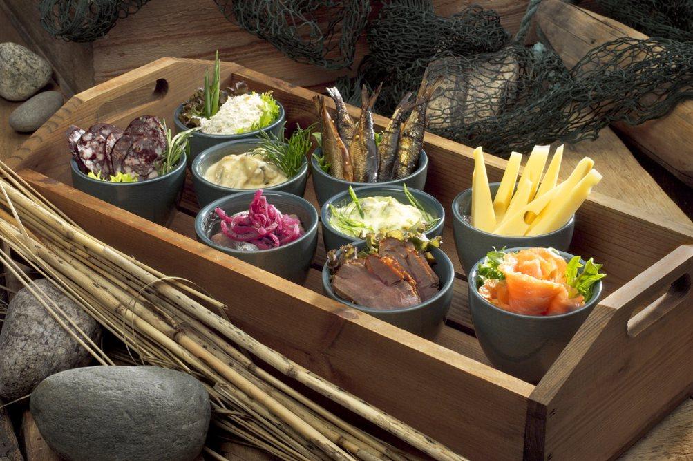 Saari Selection of appetizers