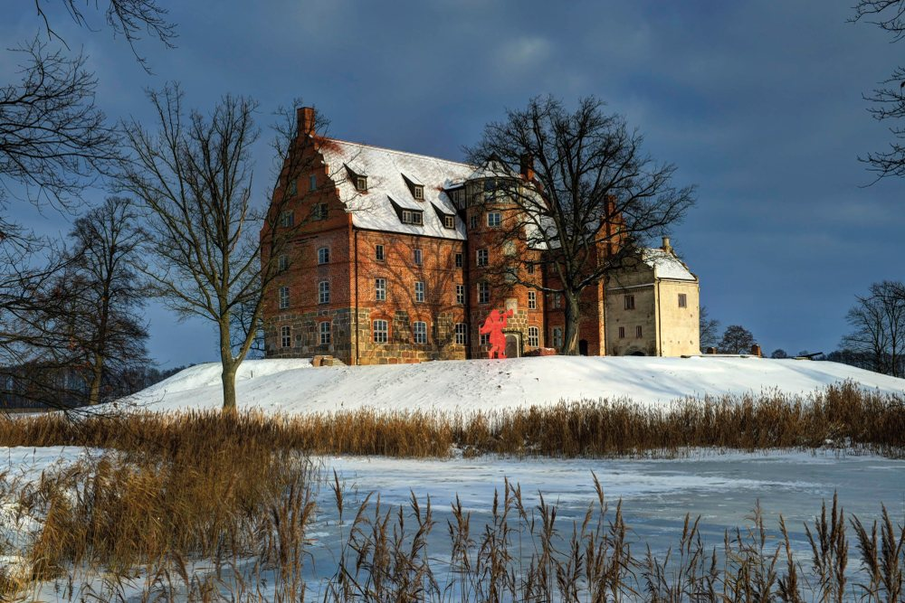 Schloss Ulrichshusen Winter (c) Lutz Edelhoff