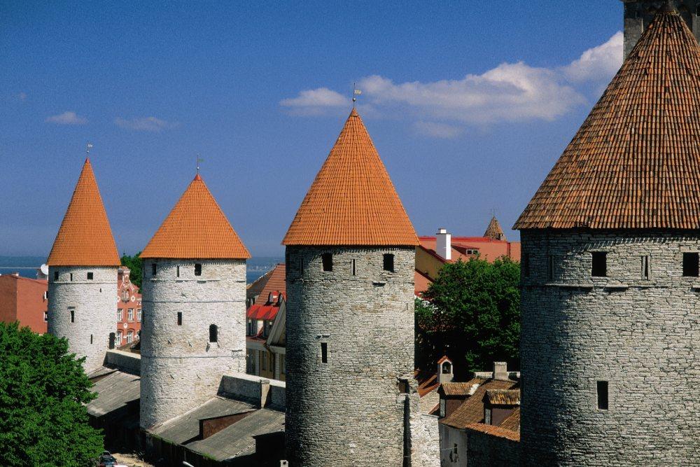 Tallinn - Türme der Stadtmauer